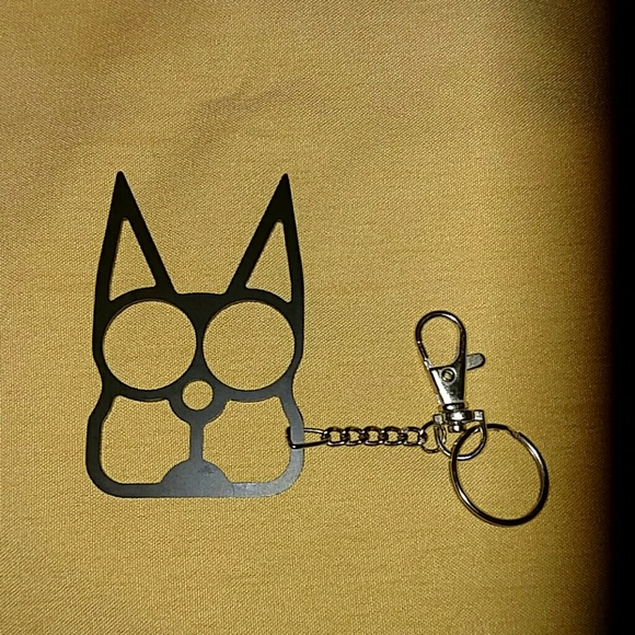 Accessories Self Defense Keychain Kitty Metal Jogwalking Safe